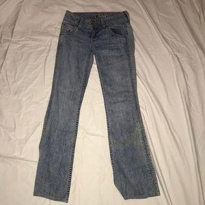 Hudson Wide Bottom jeans